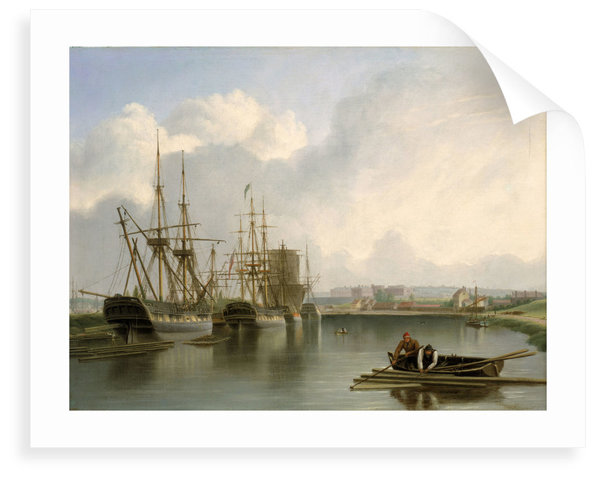 Shipping off Bristol by Joseph Walter