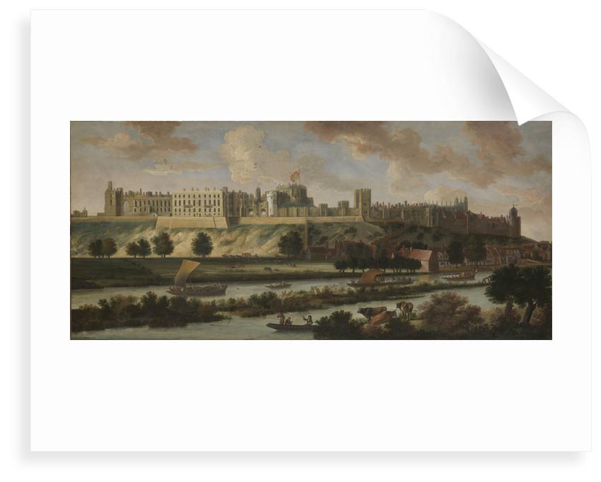Windsor Castle by Johannes Vorsterman