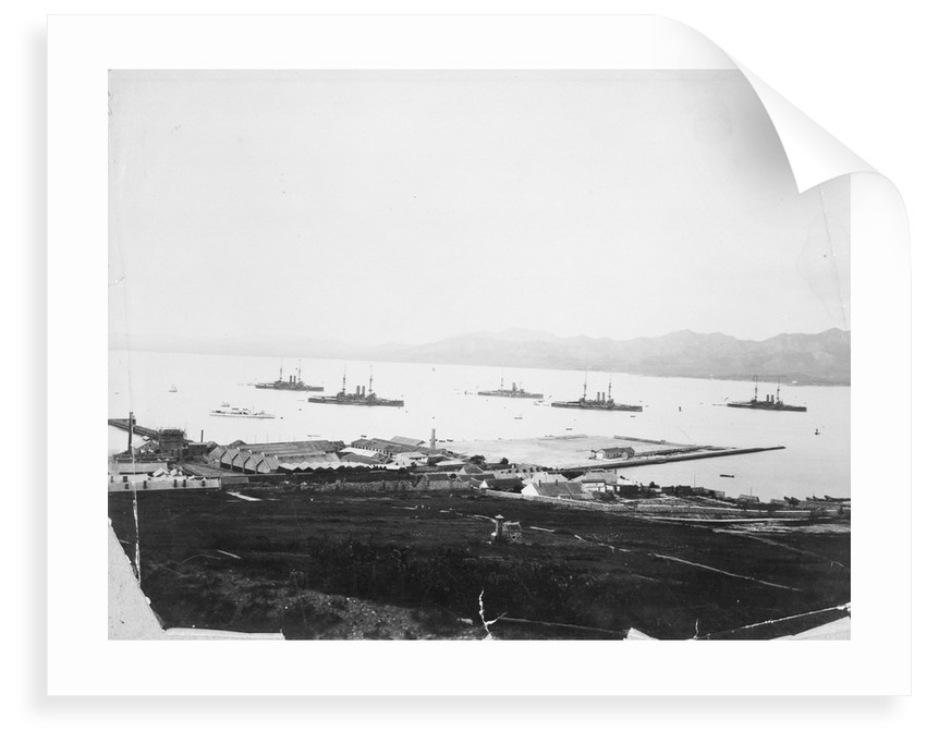 China Squadron: Wei-Hei-Wei, dated circa 1904. by unknown