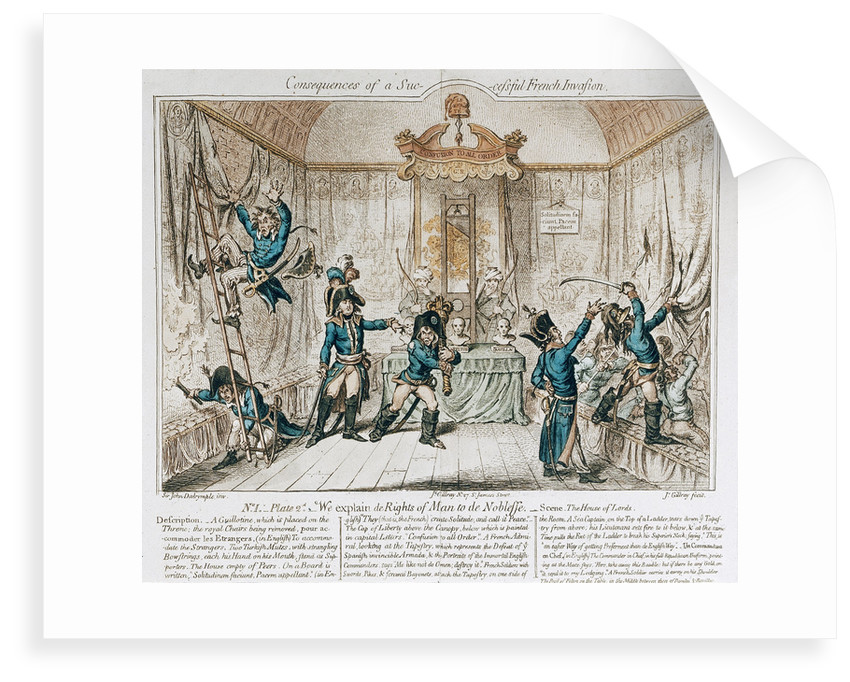 Consequences of a successful French Invasion... by John Dalrymple