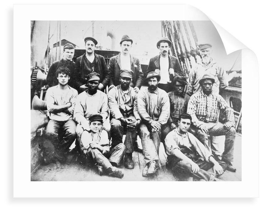 Crew of the 'Cawdor' by unknown