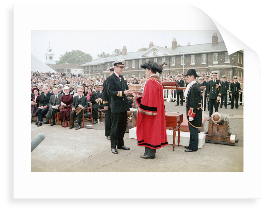 Closing of Chatham Dockyard, 1984 by unknown