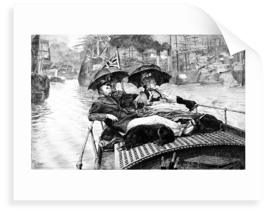 The Thames by James Jacques Joseph Tissot