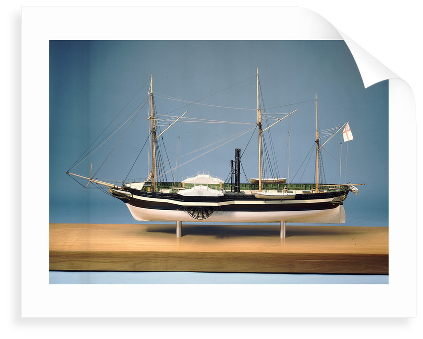 'Rhadamamthus', port broadside by T. Roberts