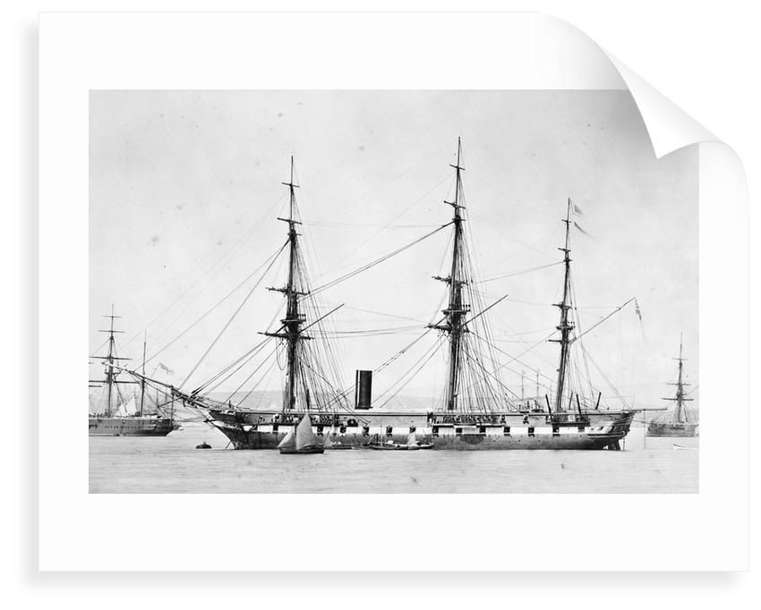 Photograph of the ship 'Topaze' by unknown