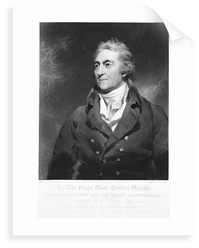 Sir Andrew Snape Hammond, Bart (1738-1828) by T. Lawrence