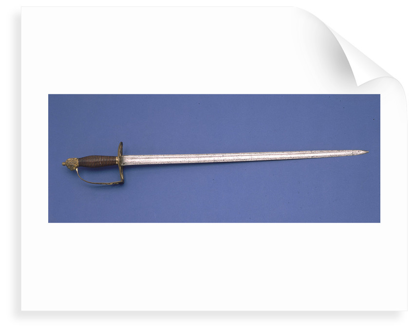Slotted hilt sword by unknown