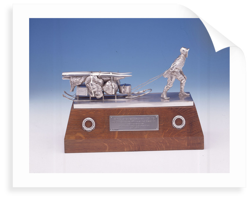 Statuette presented to Sir Clements Robert Markham (1830-1916) by Goldsmiths & Silversmiths Company Ltd.