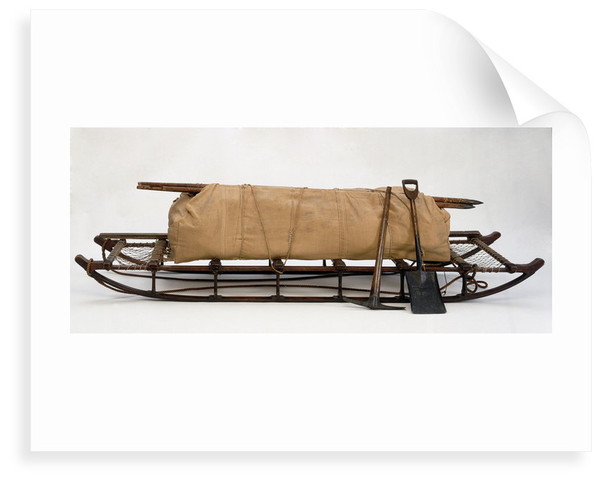 McClintock eight-man sledge used on Nares's Arctic expedition 1875-1876. by unknown