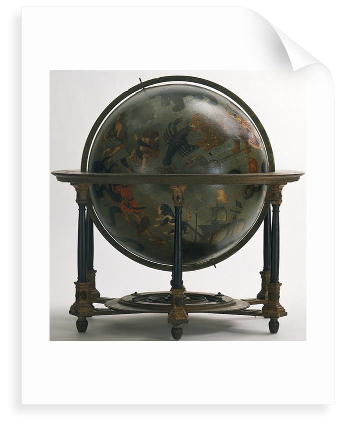 Sphere and stand by Arnold Floris van Langren