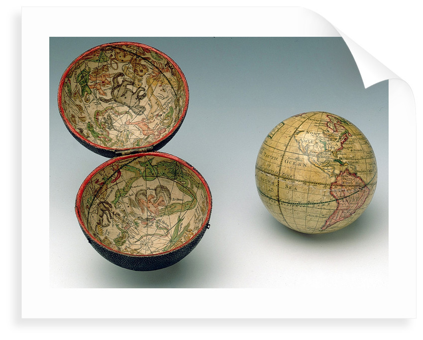 Sphere and case by James Ferguson