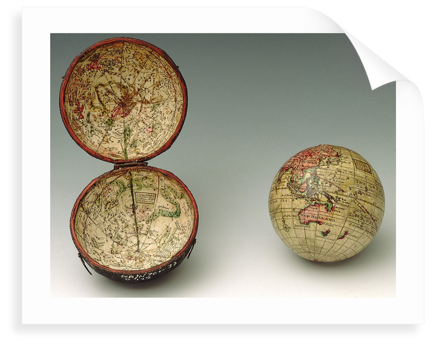 Sphere and case by Herman Moll