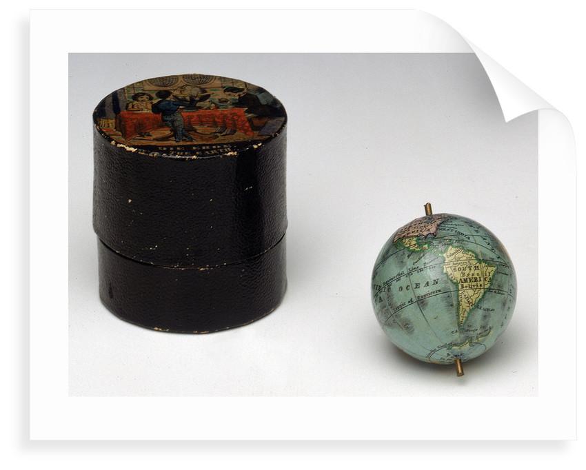 Sphere and box by Johann Georg Klinger