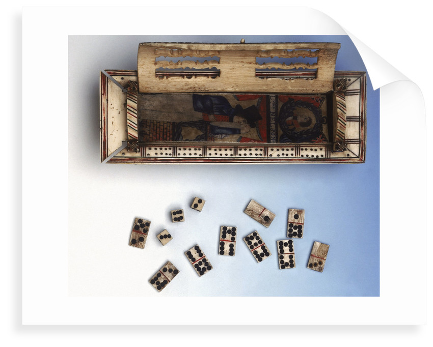 Commemorative Nelson domino box by French Armed Forces
