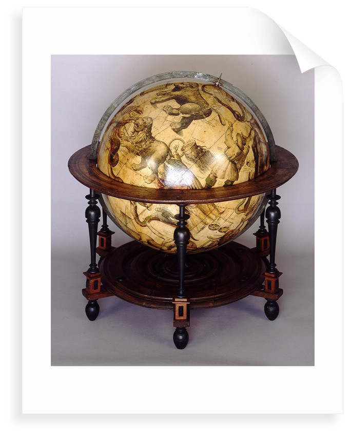 Sphere and stand by Jodocus Hondius Jr