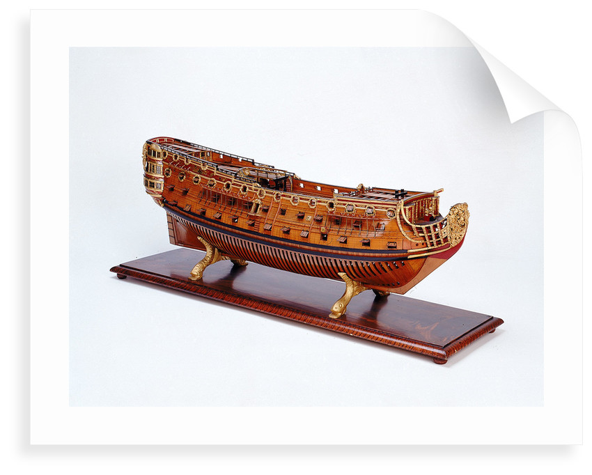 Ship of 90 guns by unknown