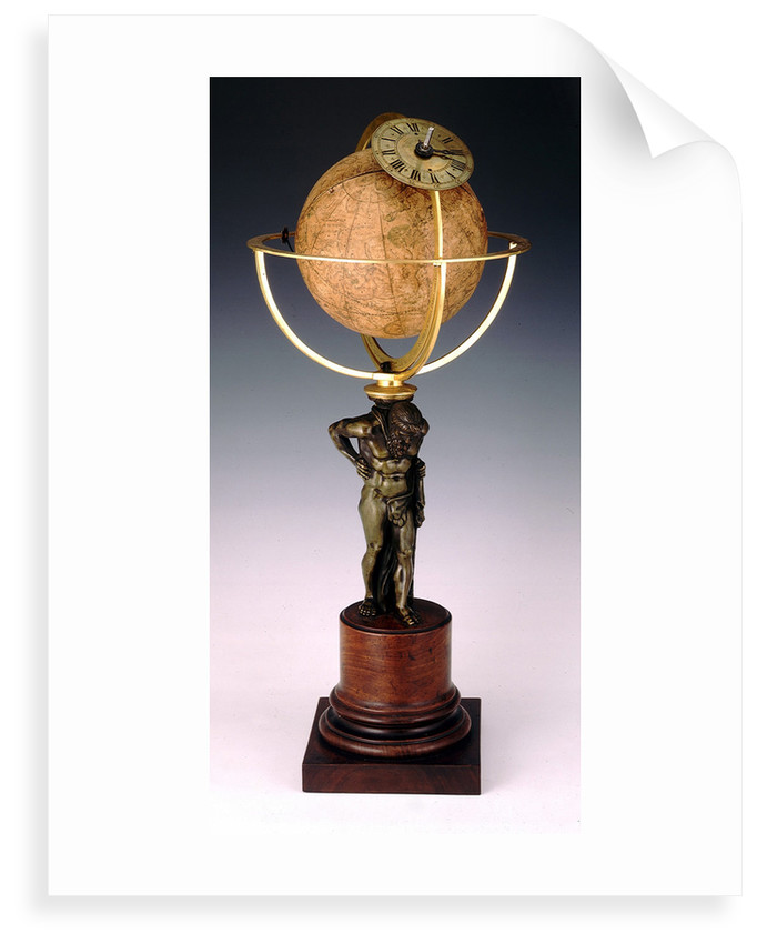 Sphere and stand by Jean Baptiste Cattin