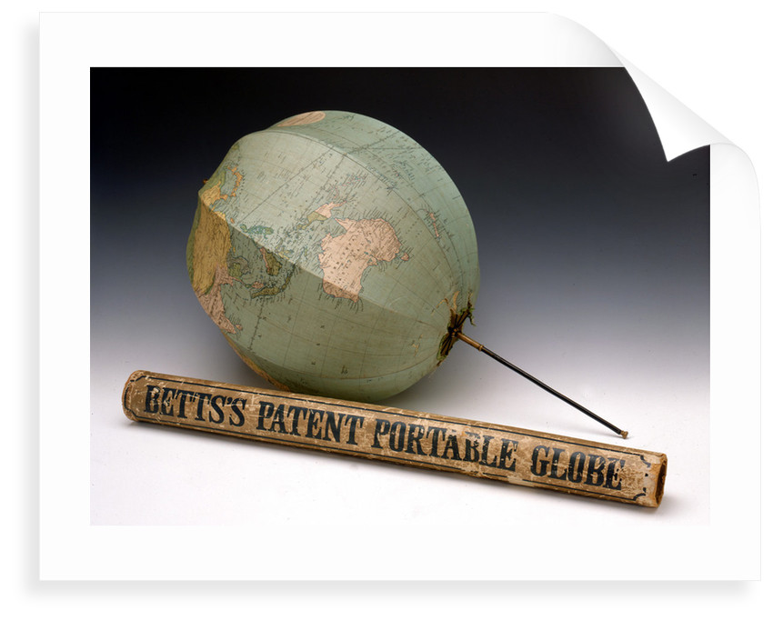 Assembled globe and box by George Philip & Son