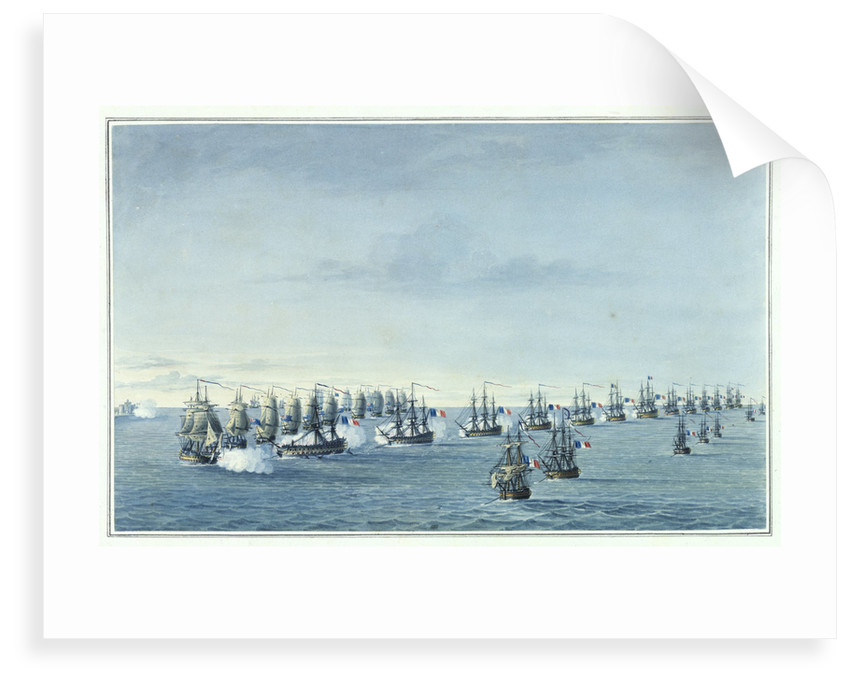Battle of the Nile, 1-2 August 1798 by Cooper Willyams