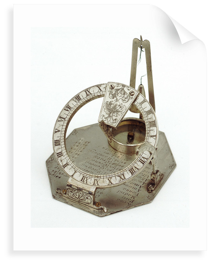 Equinoctial dial by Jacob Lusuerg