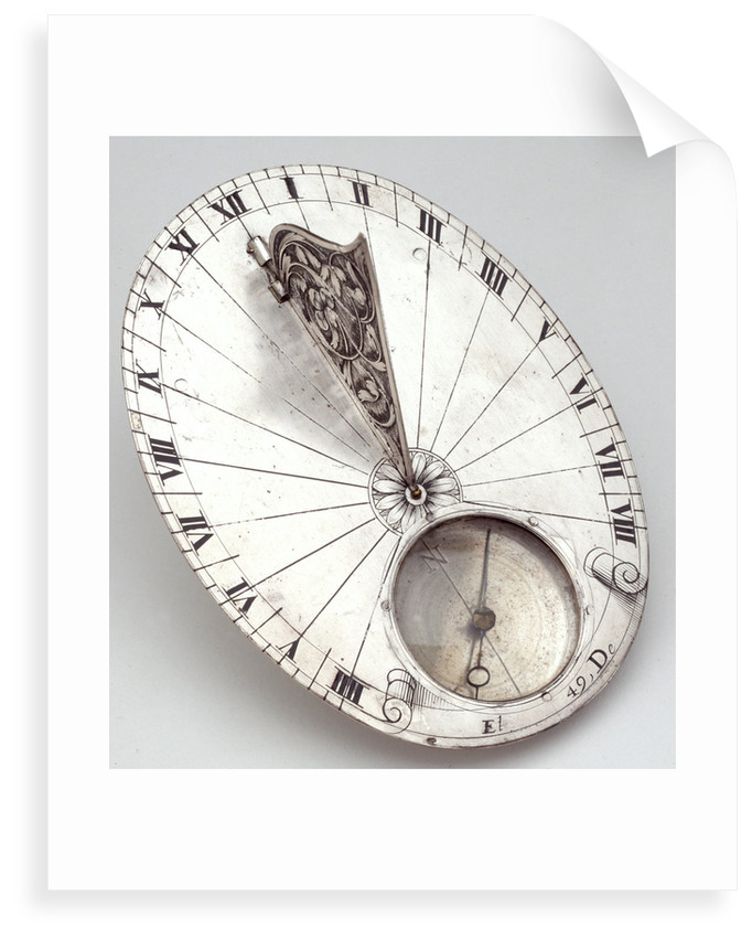 Horizontal dial by Jean Choizy