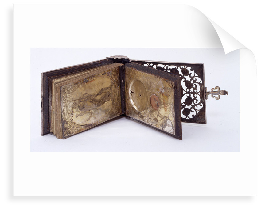 Horizontal dial, with vignette of Faith (FIDES) by unknown
