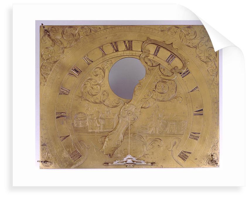 Horizontal dial by Franz Antoni Knittl