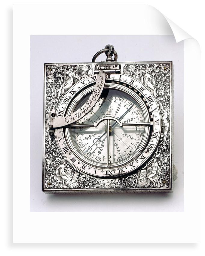 Equinoctial dial by Antoine Ferrier