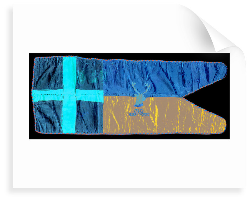 Captain Robert Falcon Scott's sledge flag by unknown