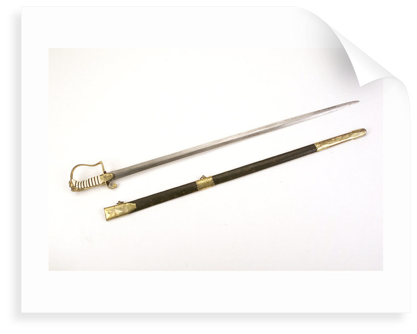 Stirrup hilted 'fighting' sword by S. Brunn