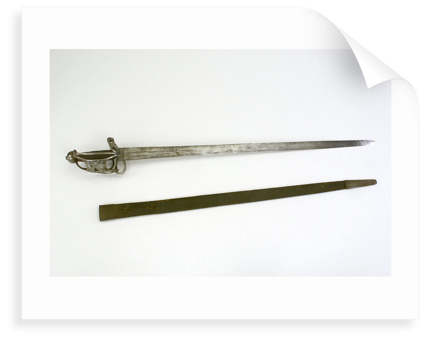 Scottish Broadsword by unknown