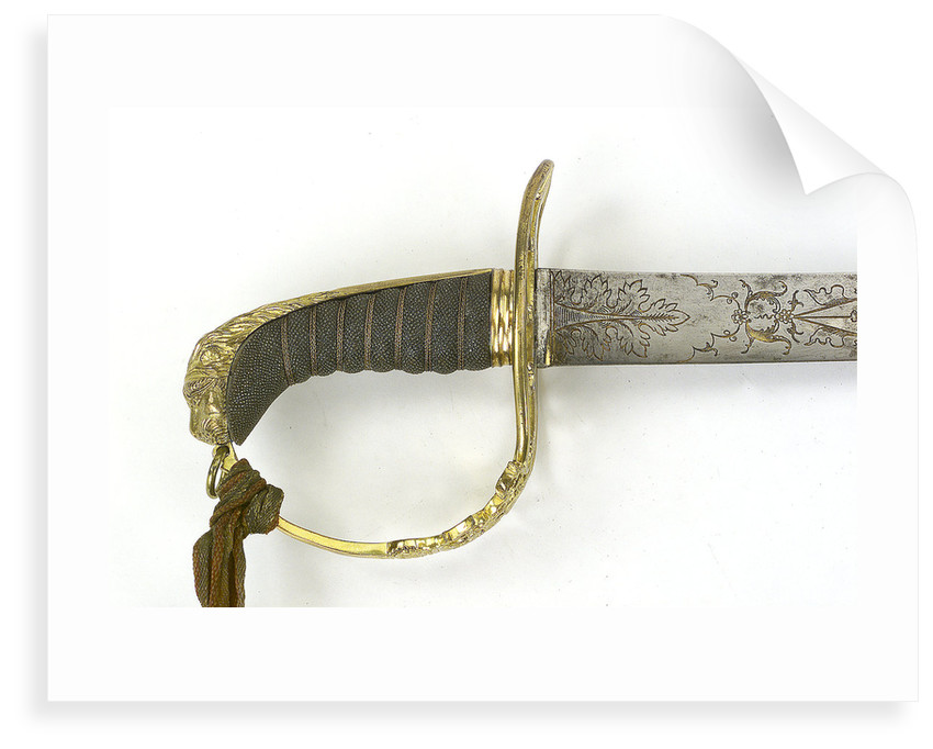 Grenadiers and Light Infantry sword by unknown
