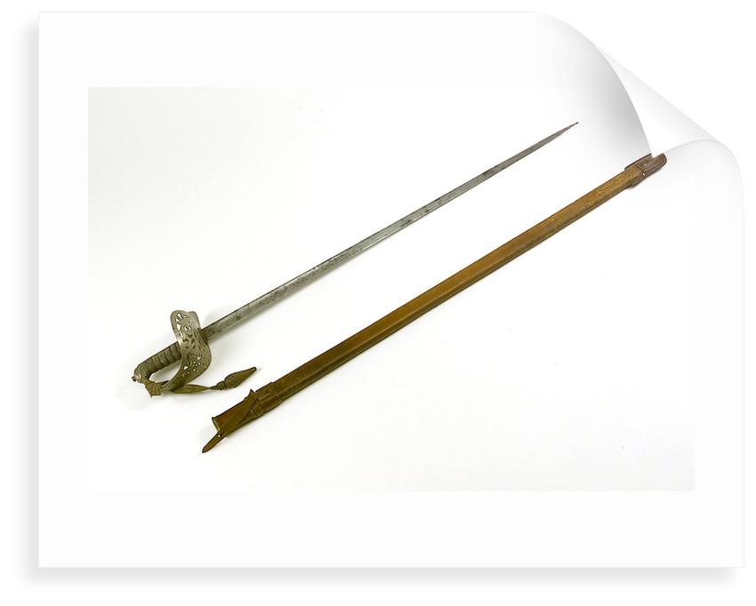 Light infantry undress sword by Edward Edward Thurkle & Sons