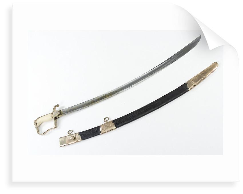 Stirrup hilted sword by Hill & Yardley