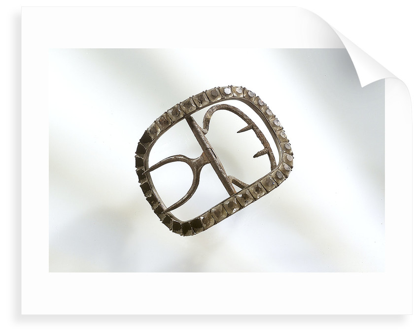 Shoe buckle by unknown