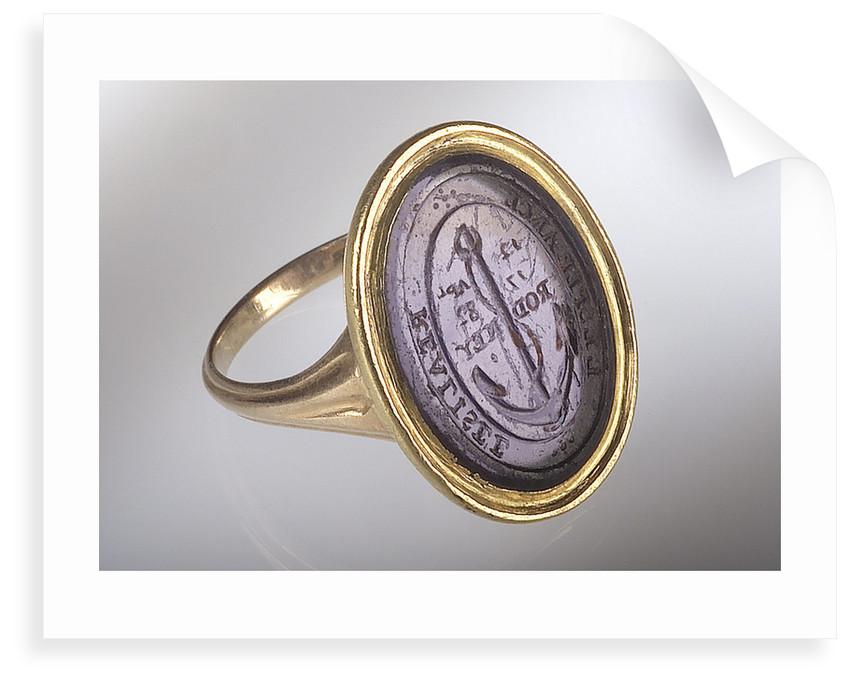 Gold ring by Tassie