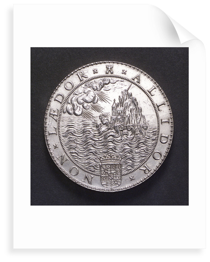 Medal commemorating the defeat of the Spanish Armada, 1588; reverse by Gerard van Bylaer