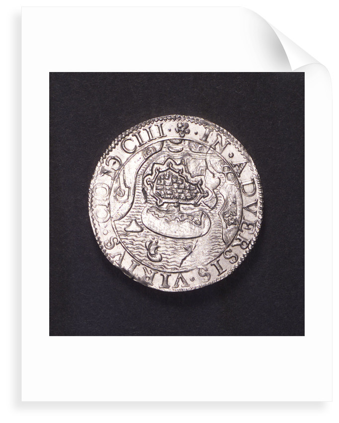 Counter commemorating the siege of Ostend, 1603; reverse by unknown