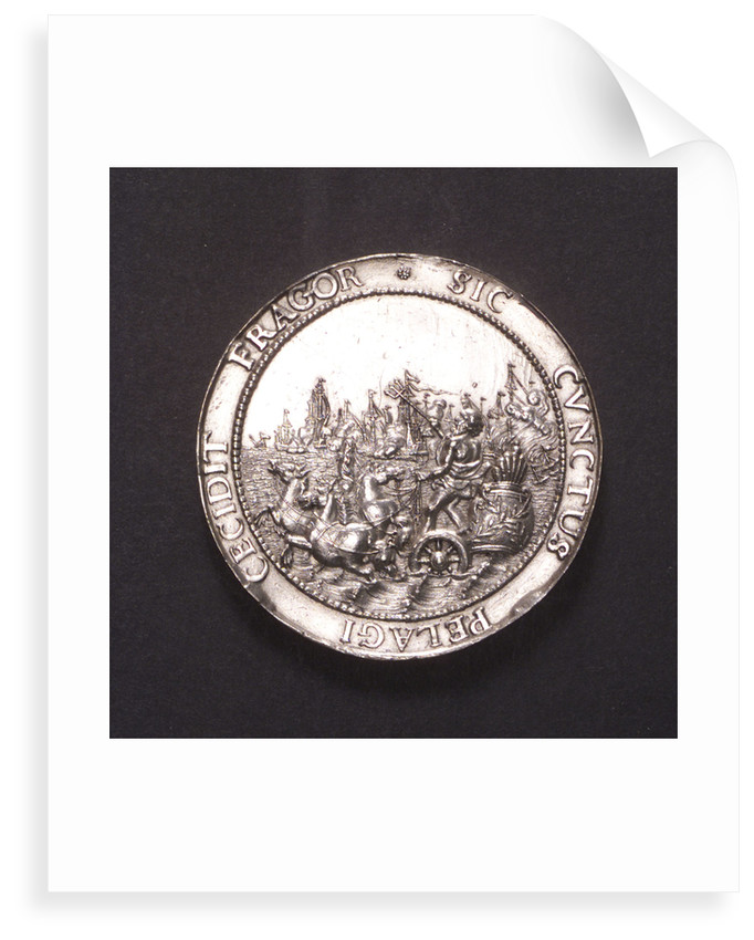 Medal commemorating the proclamation of the Peace of Breda, 1667; obverse by J. Pool