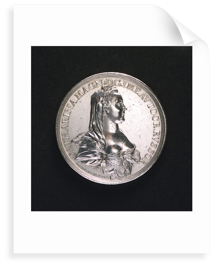 Medal commemorating armed neutrality at sea; obverse by Johann Georg Holtzhey