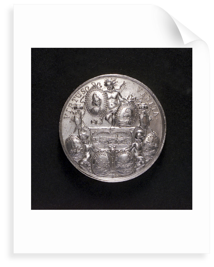 Medal commemorating the victories over the Turks in Morea, 1687; reverse by G. Hautsch