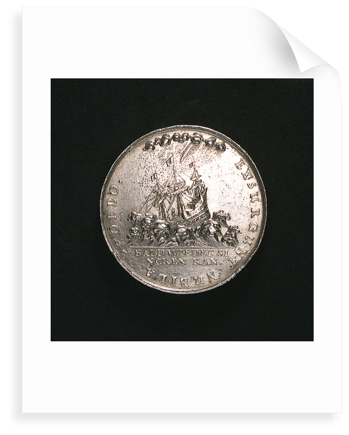 Medal commemorating the invasion of Prussia by Sweden; reverse by J. Bensheimer