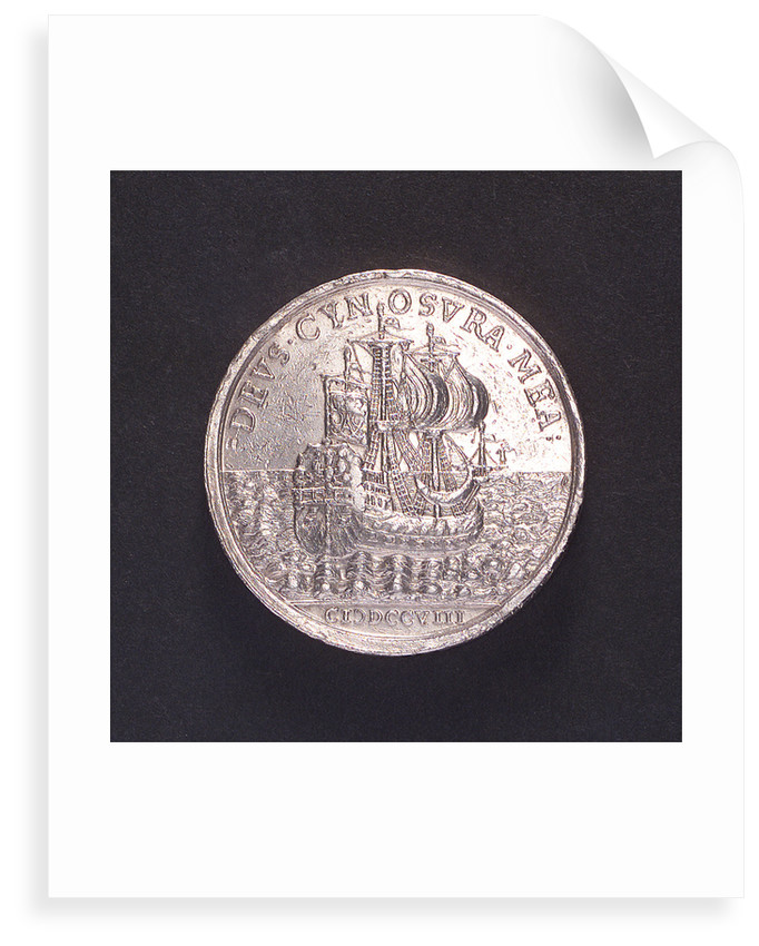 Medal commemorating the Duke of Western Frisia; reverse by I.S.