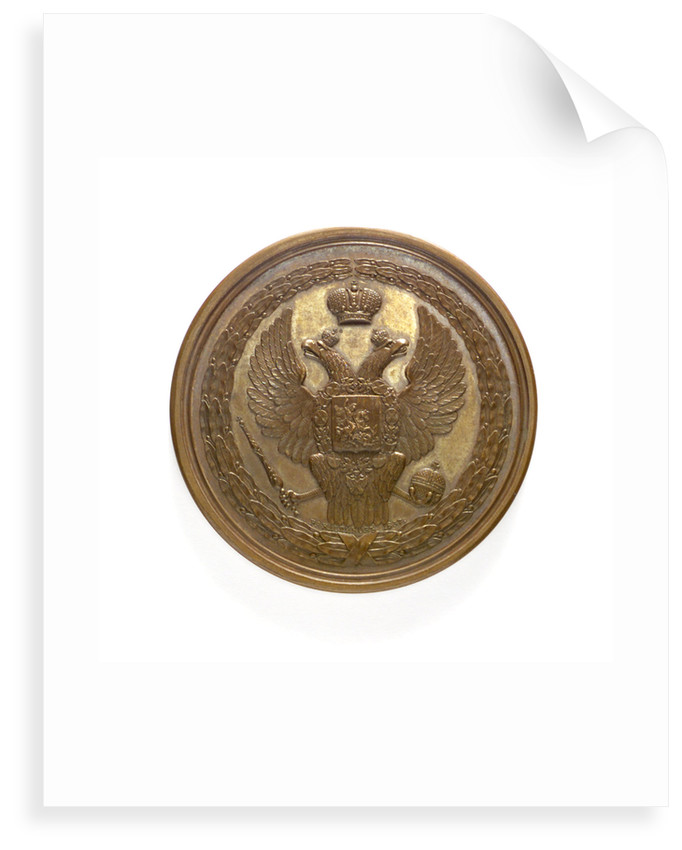 Medal commemorating the action of the brig 'Mercury', 1829; obverse by P.A. Klepikov