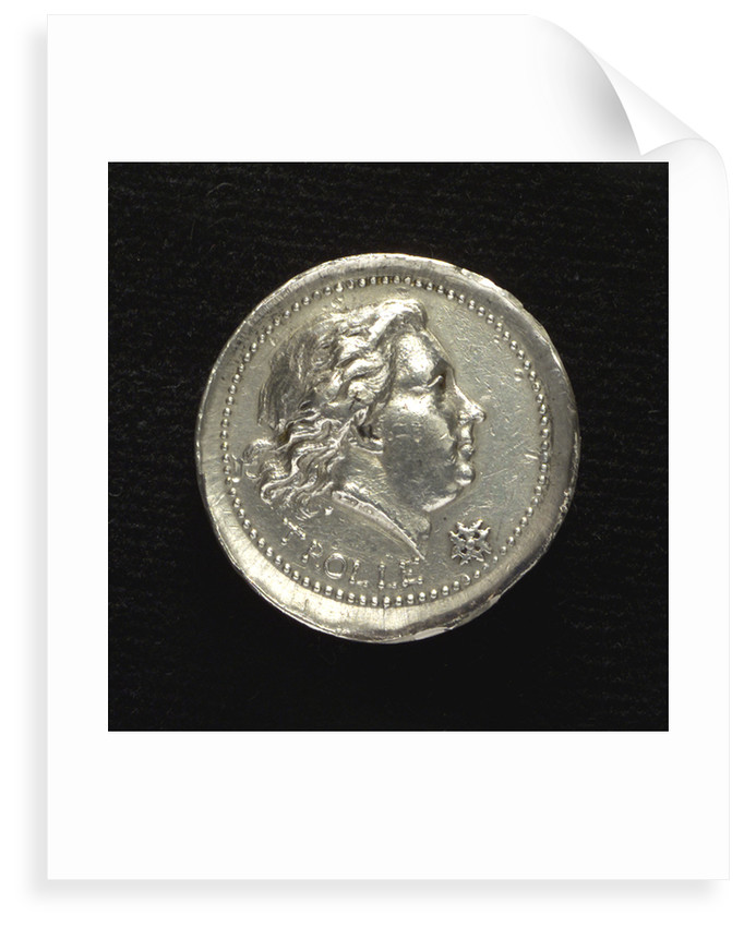 Medal commemorating Admiral Henrik af Trolle (1730-1784); obverse by C.G. Fehrman
