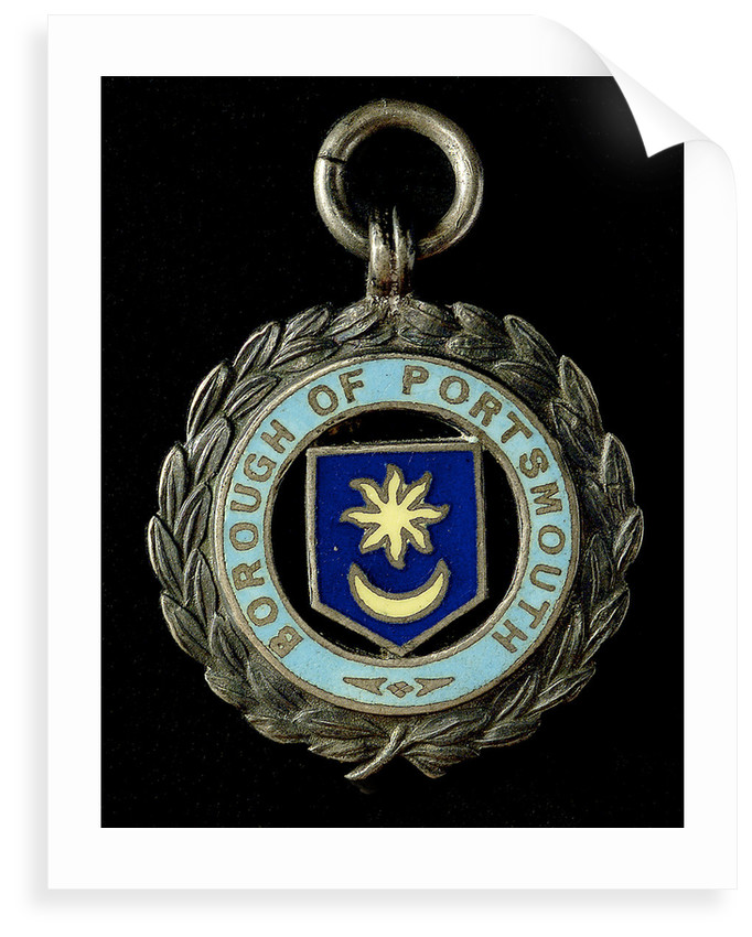 Medal commemorating Portsmouth and the Naval Brigade, 1900; obverse by unknown