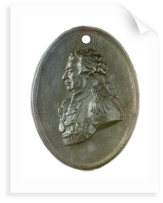 Plaque commemorating Admiral Viscount Duncan (1731-1804); obverse by John De Vaere