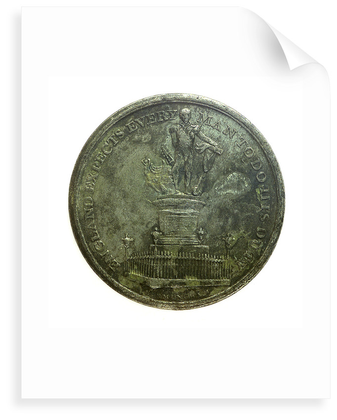 Medal commemorating the Nelson monument at Birmingham; obverse by unknown