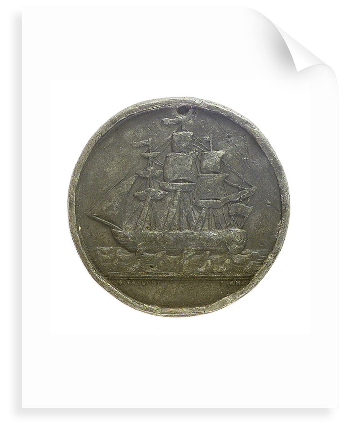 Badge of the Liverpool Riggers Association; obverse by W.J. Taylor