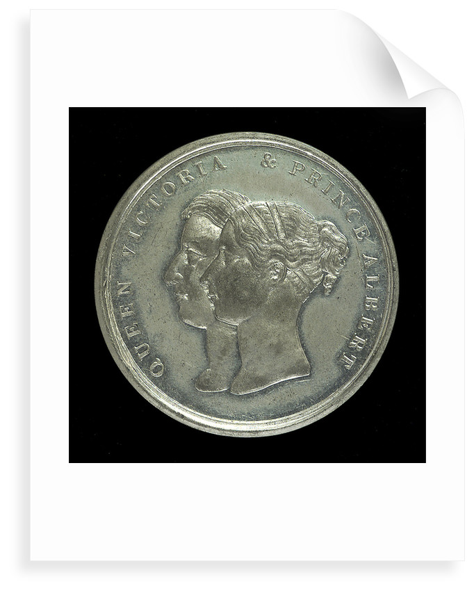 Medal commemorating the SS 'Great Britain'; obverse by J. Davis
